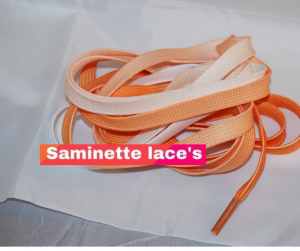lacets coloré saminette